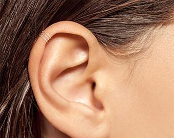 Silver Ear Cuff, Tiny Silver Ear Cuff, Ear Cuff, Small Ear Cuff, Band Ear Cuff, Band Ear Cuff, Plain Ear Cuff, Thin Ear Cuff