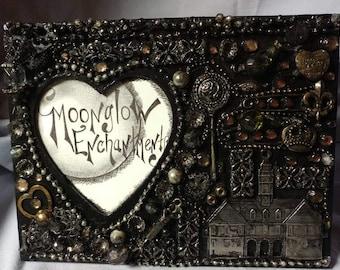 Embellished Gothic Frame of Found Treasures