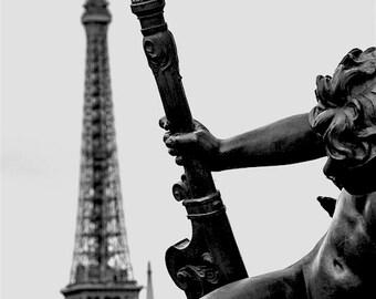 Eiffel Tower, Black & White Art, Paris Photography, Paris Art