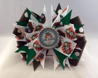 Girl Scout Cookie Bow