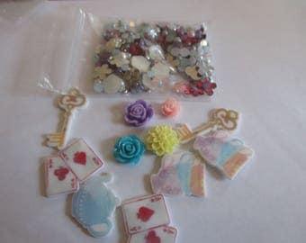 Wonderland Decoden / embellishment bundle