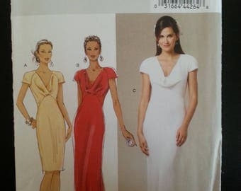 Butterick 5710 - Misse's close fitting, lined, bias dress sewing pattern - Size U.S. 6-14