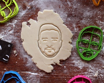 Justin Timberlake Cookie Cutter // fondant cutter // cookie stamp // for custom cookies // personalized cookie cutter