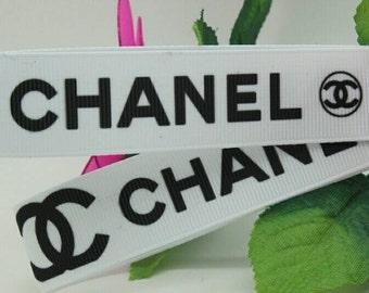 C Fashion Brand 7/8 Inch grosgrain ribbon *Sold by the yard*