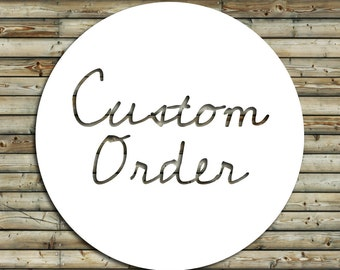 Custom Order for Lacey | Listing Flyer Design