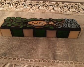 Mosaic mezzuzah