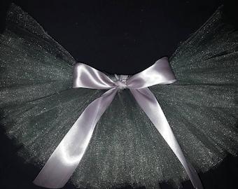Silver tutu - Christmas tutu - newborn, infant, baby, girls, adult for birthday party, Halloween costume, cake smash, or 5k run!