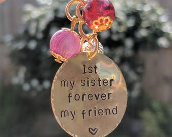 Sister keyring