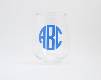 Set of Four Acrylic Wine Glasses