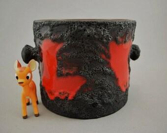 SALE Vintage pottery planter / Marei / Fat Lava / model 4206 2 | West German Pottery | 60s