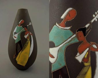 Vintage vase made by SRO / M 301 b | West German Pottery | 60s