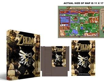 Zelda : Legend of Link (2nd Run) Complete Box Set