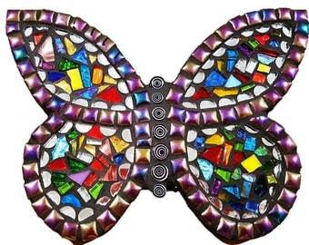 Mosaic Rainbow  Butterfly Kitset - Small