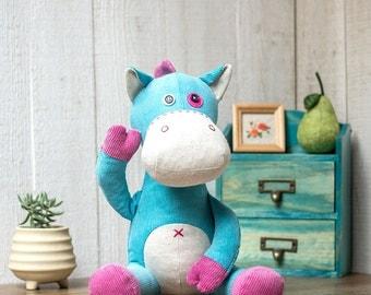 Stuffed Horse - PDF Sewing patterns & Tutorials |Stuffed animal| Stuffed pony | fabric toys | instant download | Softies