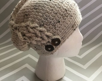 Braided Slouch Hat