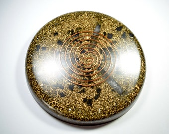 Orgone Positive Energy Device - Lemurain Charging Plate Large