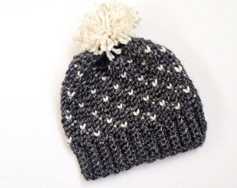 Babies Hats Knitting Patterns : Knit hat pattern Etsy