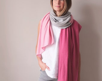 SALE Multi colour cashmere shawl