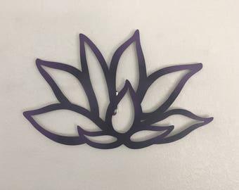 Beautiful Lotus Flower - Lotus Flower - Metal Flower - Wall Art - Home Decor
