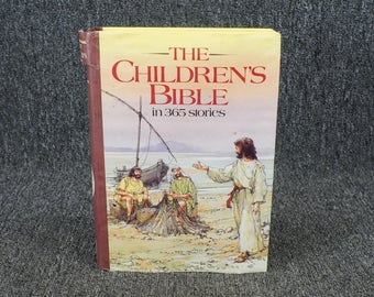 The Children's Bible In 365 Stories By Mary Batchelor C. 1985