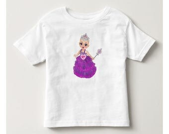 Ella The Enchanted Princess Toddler Tee Shirt - Bald Princess