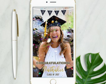 Snapchat Geofilter Graduation, Snapchat Geofilter Party, Graduation Party, Custom Graduation Geofilter, Graduation Filter, Class of 2017
