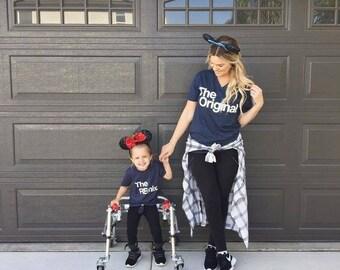 Mamita y yo ropa   Camiseta de Tumblr   Mamá y papá camisas   Correspondencia familiar   Divertido   Ropa de niño   Para los cumpleaños   Vida de mamá   Tapas de