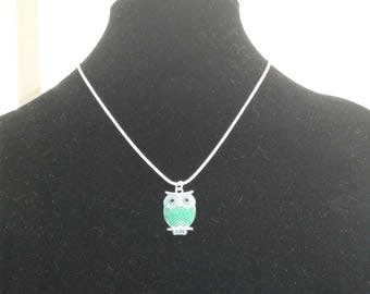Necklace with Owl Pendant