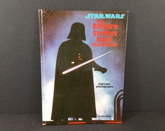 Vintage Star Wars The Empire Strikes Back Story Book 1980