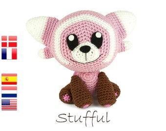 Crochet pattern Stufful (Pokemon)