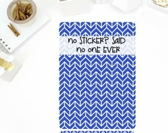 No Sticker? Sticker Binder Cover! Perfect for the Mini or Standard Binders!