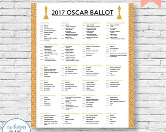 Rejection Ooh A Sticker in addition 2017 Oscars Bingo Card moreover Hustle Vs Wolf How To Throw The Perfect Oscars Theme Party further Print Out Your Ballots likewise Rejection Ooh A Sticker. on oscar ballot printed