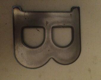 "6""  Metal Letters / Steel Letters Standard flame cut"