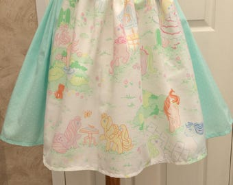 Pastel Skirt with Retro My Little Pony Panel
