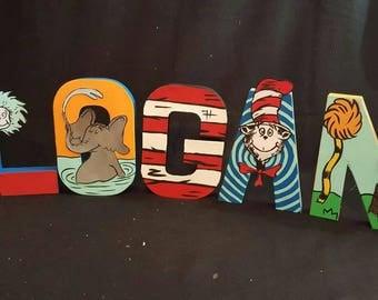Dr.Seuss Letters
