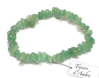 Baroque in Aventurine - natural stone - Lithotherapy Reiki - luck bracelet