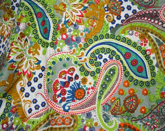 Summer dress boho fabric by the yard