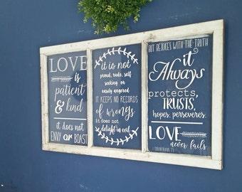 Love is patient Love is kind instant download 1 Corinthians 13 1 cor 13 silhouette studio file love never fails file