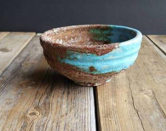 Decorative Raku Bowl