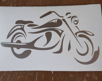 Motorcycle vinyl decal, Bike decal-window-car-yeti-truck-car-laptop-decals-vinyl decals-gifts for men-motorcycle decals-biker decals