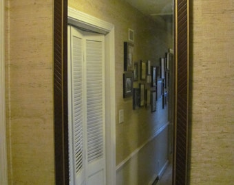 Chevron Rococo Mirror Made by Kindel of Grand Rapids