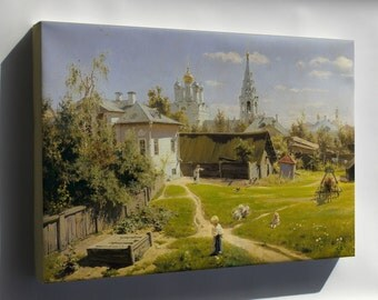 Canvas 24x36; Moscow Patio By Vasiliy Polenov