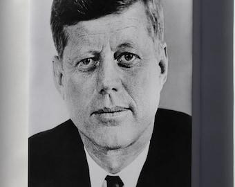 Canvas 16x24; John F. Kennedy, 1961