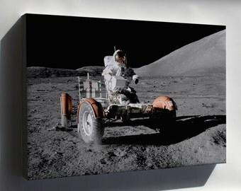 Canvas 16x24; Apollo 17 Lunar Rover