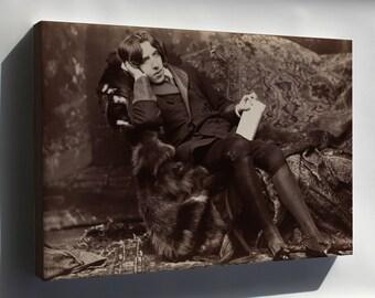 Canvas 16x24; Oscar Wilde
