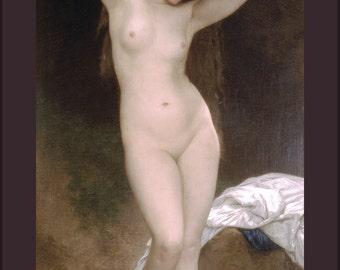 16x24 Poster; Bather  William-Adolphe Bouguereau (1825-1905) - Bather (1870