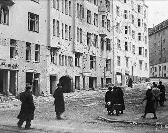 16x24 Poster; Helsinki Bombardment 1939 Sa Kuvat Fu2008