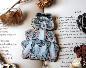 "Brooch Collection ~ ""Alice Liddell"""