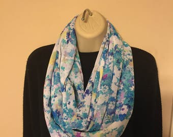 Gorgeous printed infinity scarf