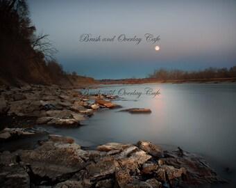 Moon River Digital Backdrop/Digital Background